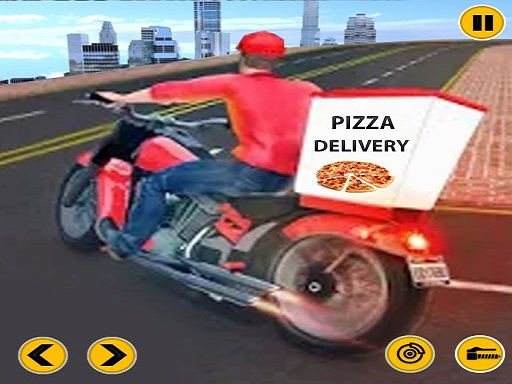 Big Pizza Delivery Boy Simulator Game