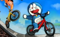 Doraemon Bicycle Racing