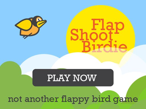 Flap Shoot Birdie Mobile Friendly FullScreen Game
