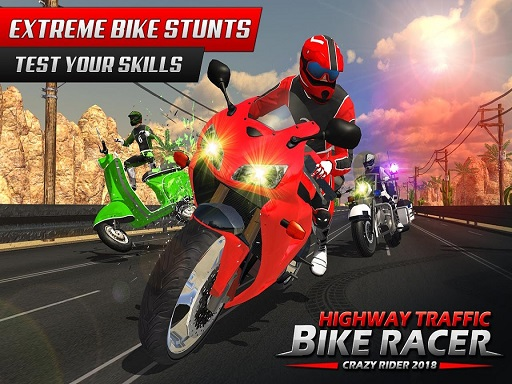 Highway Rider Bike Racing: Crazy Bike Traffic Race