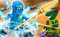 Ninjago Energy Spinner Battle