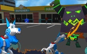 Robot Dog City Simulator